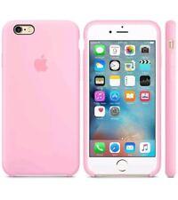 "LIGHT PINK ORIGINAL GENUINE Apple Silicone Case Silikonhülle - iPhone 6S 4.7"""