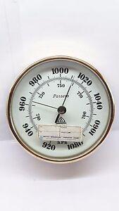 Passero Aneroid Barometer Vintage Made in Poland