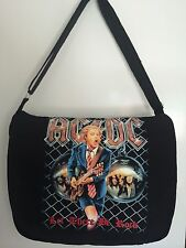 NEW ACDC Metal Rock Band messenger Bag school shoulder travel laptop Gift Canvas