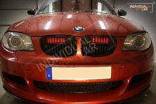 BMW 1er E82 Coupé E88 Cabrio - Air Scoops Rot-