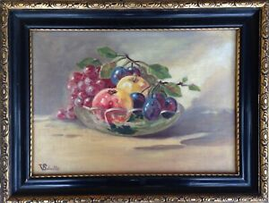 V. Schultz: STILL LIFE WITH FRUITS