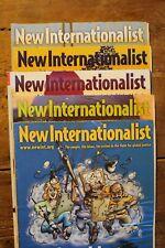 NEW INTERNATIONALIST MAGAZINE X5 LOT