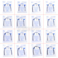 1 Bag Dental Orthodontic Stainless Steel Arches Rectangular Arch Wire Natural