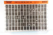 Grundig Service CDP70 CDP80 CDP100 Discman Compact Player Microfiche 1994 K230