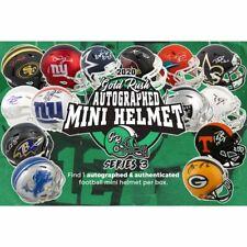 O.J. SIMPSON GoldRush Autographed Mini Helmet S3 HALF Case 6xBox Live Break