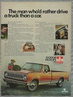 1975 DODGE D100 advertisement, Dodge D100 pickup truck