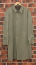 Mens BURBERRY BURBERRYS  Mac / Trench Coat Jacket Large L / XL