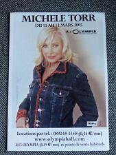 MICHELE TORR - Olympia 2005 - publicité advert (affiche)