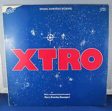 XTRO - HARRY BROMLEY - HORROR SCI-FI SOUNDTRACK LP - UK 1ST PRESS TER 1052