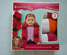 American Girl Doll Crafts Scarves Pom Pom Scarf Project Idea Booklet Creative