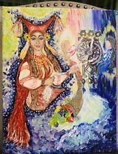 picture of the Slavic goddess Makosh