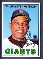 1967 Topps #200 Willie Mays - S.F. Giants  Ex/Mt+