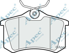 REAR BRAKE PADS FOR VW GOLF GENUINE APEC PAD1190