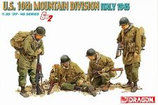 Dragon Model kit 1/35 Gen 2: US Army, 10th Mountain Division, Italy 1945
