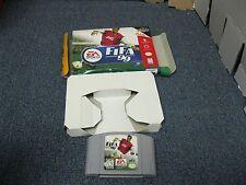 FIFA 99 N64 with Box Nintendo