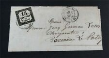 nystamps France Stamp Used Early Cover Rare