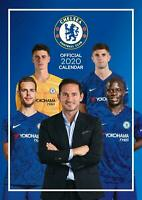 Chelsea Official 2020 A3 Wall Calendar Soccer Footbal by Danilo Free Post