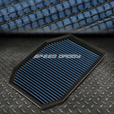 FOR 04-07 BMW E60 5-SERIES BLUE REUSABLE&WASHABLE HIGH FLOW DROP IN AIR FILTER