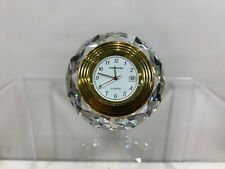 Swarovski Crystal Naploleon Clock 9280 101 202  MIB W/COA