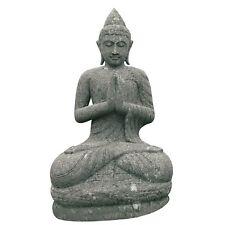 Aus-57 Buddha Figur Tempelwächter Buddha stein Budha Steinfigur Budda 120 cm