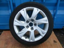 2008 AUDI A4 17'' 5 STUD ALLOY WHEEL & TYRE 225/45ZR17 ( SEE ALL PICTURES )