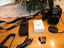 Canon PowerShot SX520 HS 16.0MP Digital Camera - Black