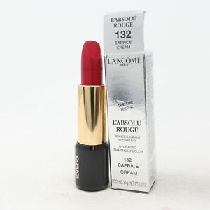 Lancome L'absolu Rouge Hydrating Lipcolor Plastic Cap  0.12oz/3.4g New