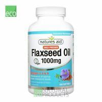 Natures Aid Flaxseed Oil Cold-Pressed Omega 3, 6 & 9 120 softgels