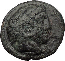 Alexander III the Great 336BC  Ancient Greek Coin Hercules Bow Club  i31396