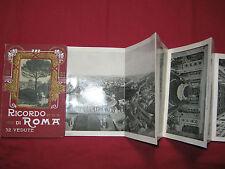 Dépliant sous cartonnage - RICORDO DI ROMA - 32 Vedute - 32 Photos - Partie I