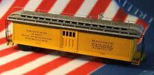 On3/On30 WISEMAN SM-101 D&RGW OPEN PLATFORM BAGGAGE PASSENGER CAR KIT