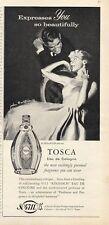 1958 4711 Tosca Perfume VIntage Bottle PRINT AD