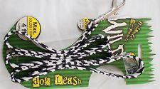 dog leash Wild 4 foot max 50lbs zebra desigh snap hook easy on-off