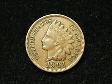 SUMMER SALE!!  XF+ 1901 INDIAN HEAD CENT PENNY w/ DIAMONDS & FULL LIBERTY #69s
