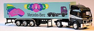 Mercedes Benz Sk 1748 Semi-Remorque Truck Course Hockenheim Herpa Werbemodell