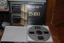"""Maxell XL II 35-180 EE Reel to Reel Tape 26,5 cm/10,5"""" auf Metall Spule NAB"""