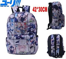 Anime YURI!!! on ICE Backpack Bag Knapsack Packsack School Travel Satchel Bags