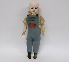 Antique Bisque Head Character Doll (1000 - 4d)