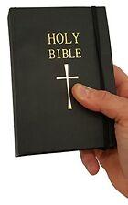 Secret Hidden Flask in a Bible Alcohol Spirits Flask, New