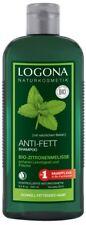 Logona Anti-Fett Shampoo Bio-Zitronenmelisse 250ml, für fettiges Haar, NATRUE