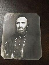 Rare Civil War Stonewall Jackson tintype C309RP
