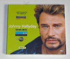 RARE CD ALBUM DIGIPACK / JOHNNY HALLYDAY - VOL.2 / NEUF SEALED . EDITION LIMITEE