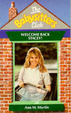 Welcome Back, Stacey! (Babysitters Club), Martin, Ann M., Very Good Book