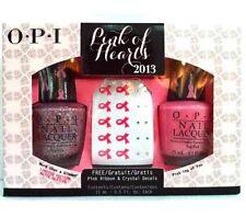 NEW OPI 💅🏼Pink Of Hearts Nail Polish SET *FREE Gifts! 🎁Breast Cancer