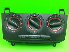 MAZDA 3  Heater controls with AC