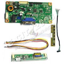 "VGA LCD Controller board kits Test 15""inch M150XN07 V2 1024*768 DIY LED Monitor"