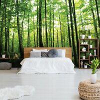 Vlies Fototapete WALD 3D Natur Landschaft Bäume Wohnzimmer Tapete Wandtapete 82