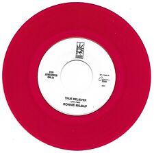 MILSAP, Ronnie  (True Believer)  RCA S7-17595 = FJO! RED VINYL PROMO