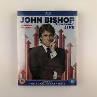 John Bishop: Supersonic Live (Blu-ray, 2015) s *New & Sealed*