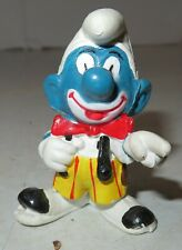 Smurf Figurine Smurfs Scary Clown Costume Vintage 1978 Schleigh Peyo Hong Kong
